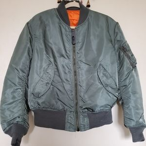 ALPHA INDUSTRIES | VINTAGEBOMBER JACKET REVERSIBLE